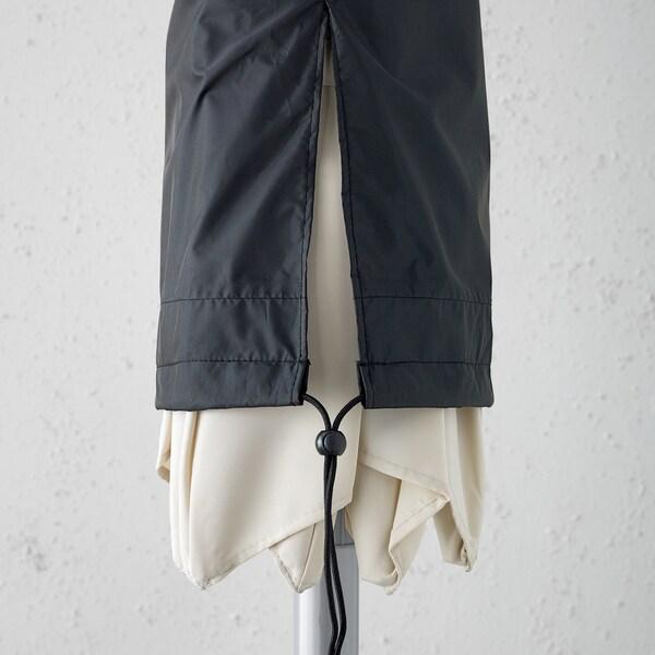 TOSTERÖ housse pour parasol noir 160 cm 19 cm 13 cm