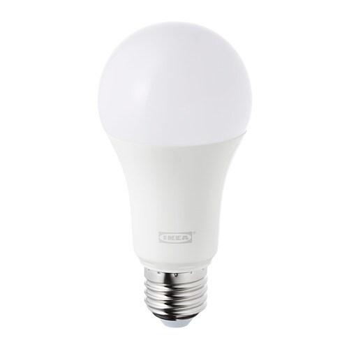 Trådfri Ampoule Led E27 980 Lumen Sans Fil à Variateur D Intensité