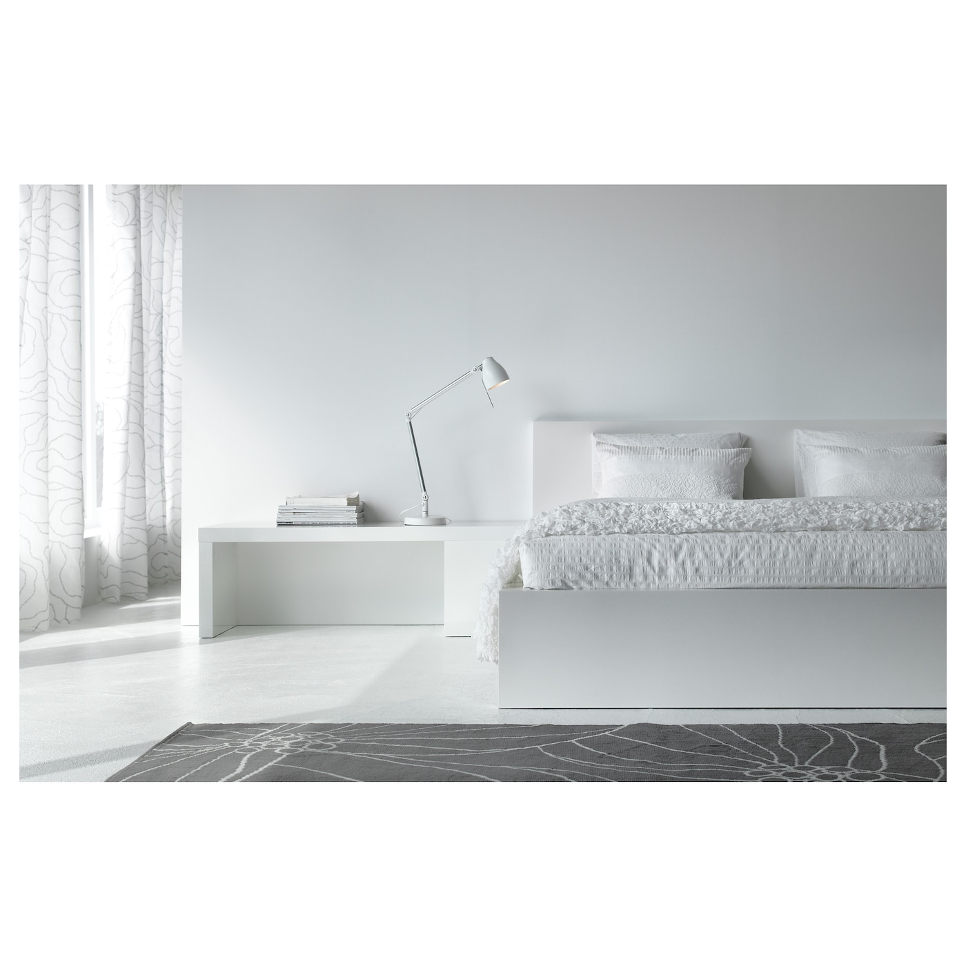 tr l lampe de bureau blanc 64 cm ikea. Black Bedroom Furniture Sets. Home Design Ideas
