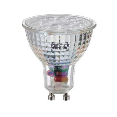 TRÅDFRI Ampoule LED GU10 345 lumen, sans fil à variateur d'intensité spectre blanc