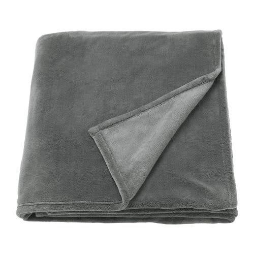 trattviva couvre lit gris 230 x 250 cm ikea. Black Bedroom Furniture Sets. Home Design Ideas