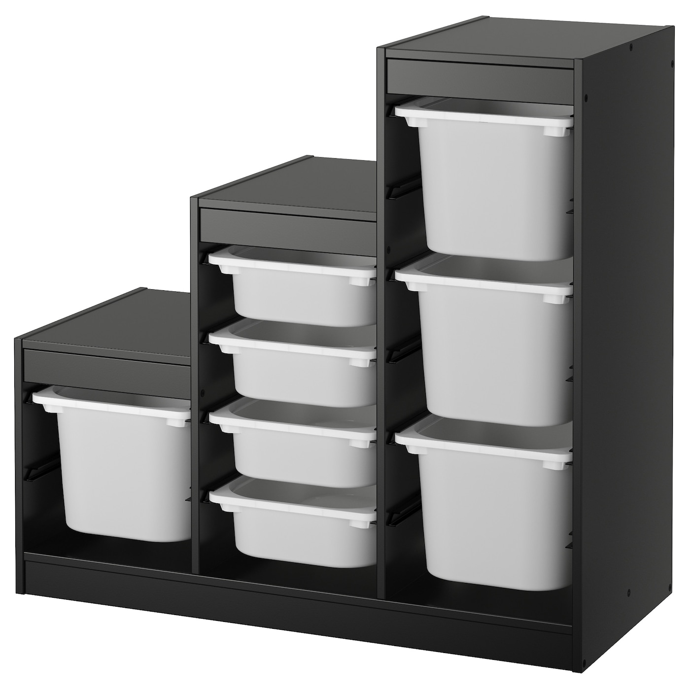 trofast rangements jouets combinaisons ikea. Black Bedroom Furniture Sets. Home Design Ideas