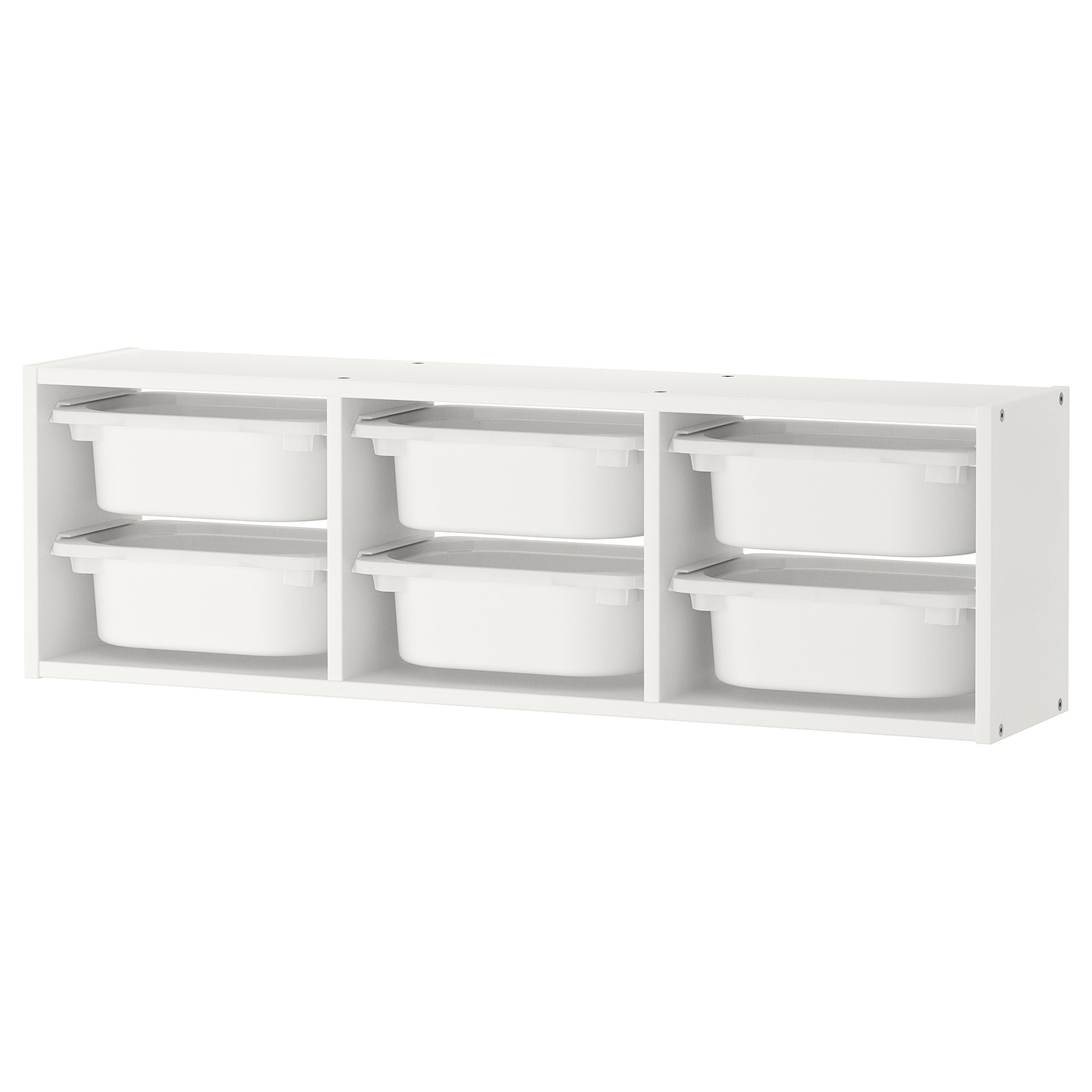 trofast rangement mural blanc blanc 99 x 21 x 30 cm ikea. Black Bedroom Furniture Sets. Home Design Ideas