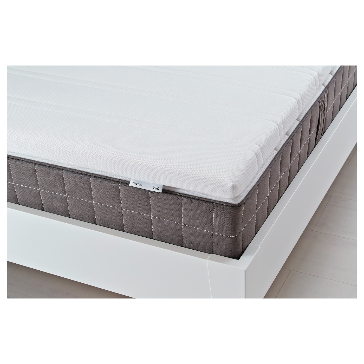 tuddal surmatelas blanc 140x200 cm ikea. Black Bedroom Furniture Sets. Home Design Ideas