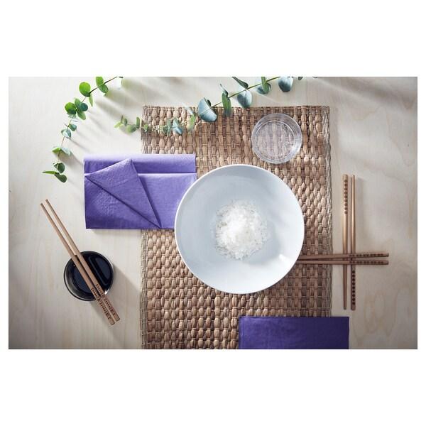 UNDERLAG set de table jacinthe d'eau/naturel 35 cm 45 cm