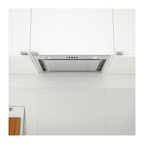 Underverk Hotte Aspirante Intégrée Acier Inoxydable 56 Cm - Ikea
