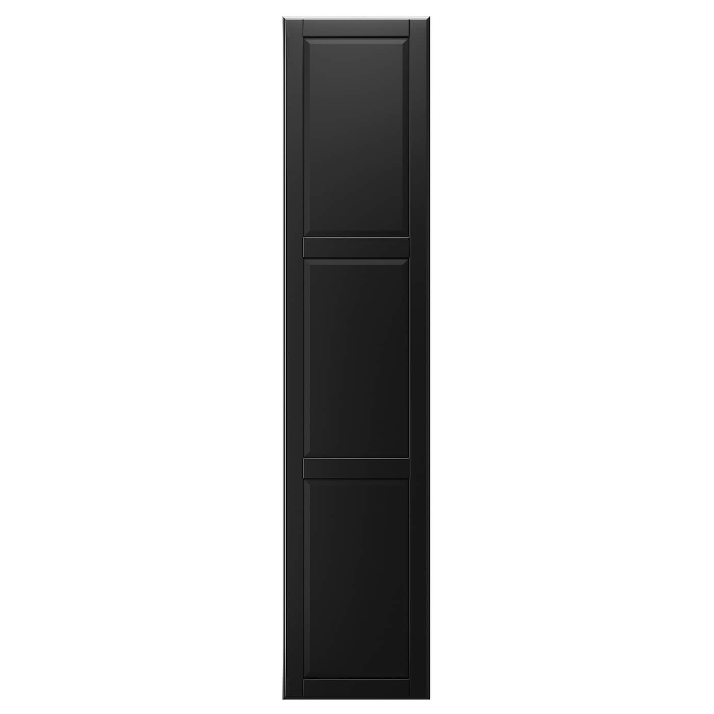 undredal porte avec charni res noir 50x229 cm ikea. Black Bedroom Furniture Sets. Home Design Ideas