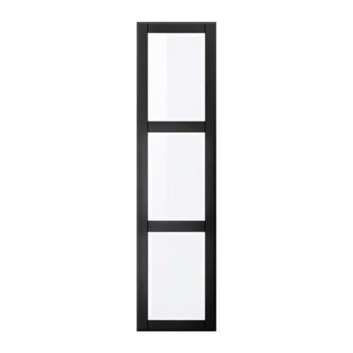 undredal porte avec charni res 50x195 cm charni re fermeture silencieuse ikea. Black Bedroom Furniture Sets. Home Design Ideas