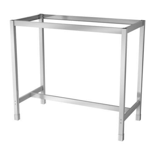 Photo Salon Blanc Et Bois : UTBY Structure Piètement en acier inoxydable; solide, résistant et