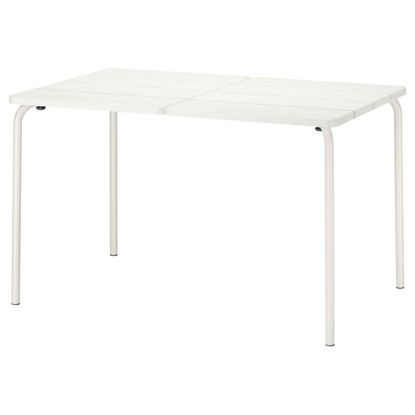 v dd table ext rieur blanc 116 x 74 cm ikea. Black Bedroom Furniture Sets. Home Design Ideas
