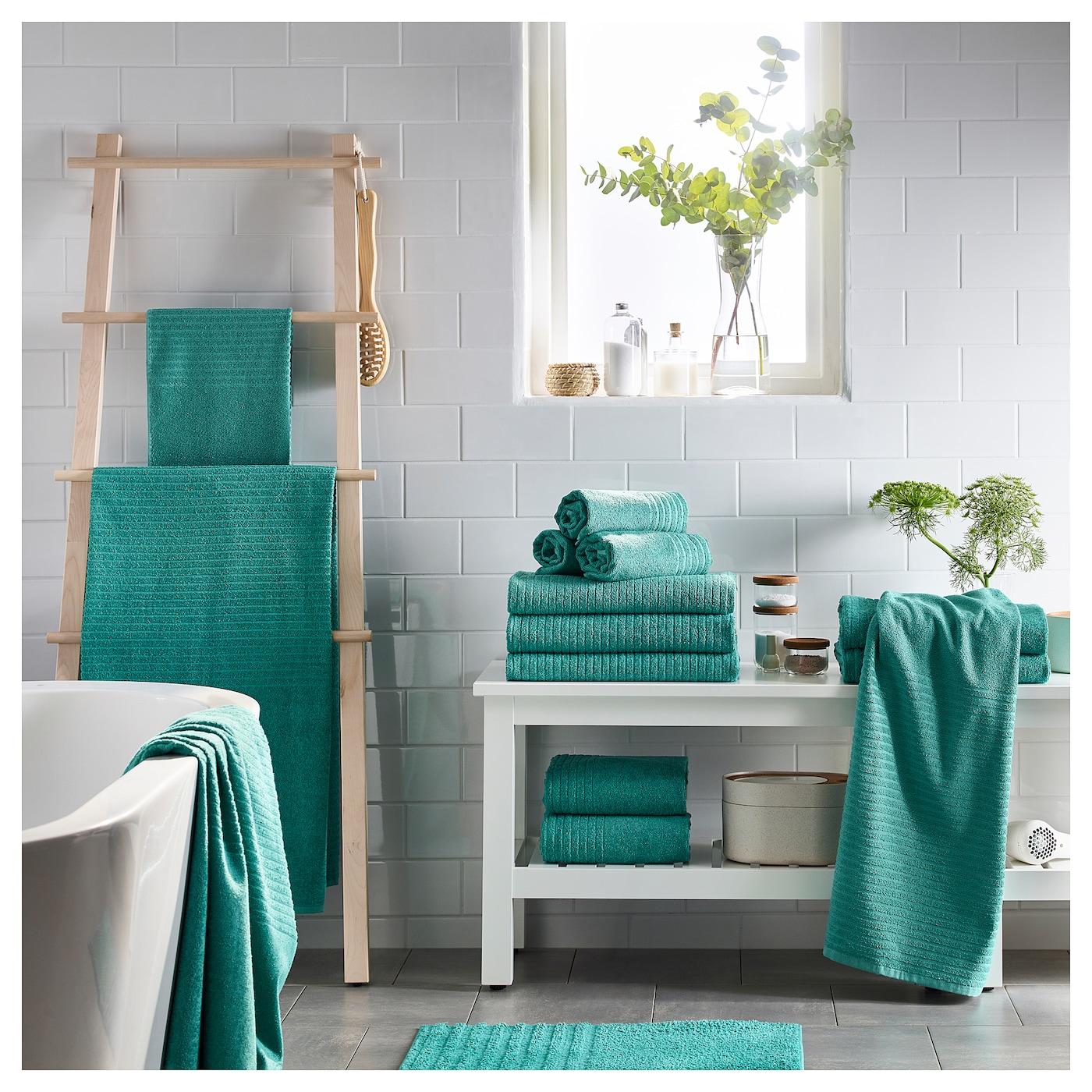 v gsj n drap de bain turquoise 70 x 140 cm ikea. Black Bedroom Furniture Sets. Home Design Ideas
