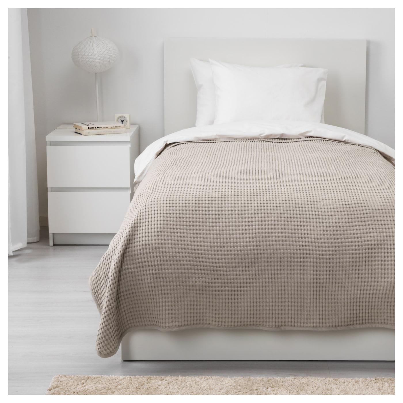 v reld couvre lit beige 150x250 cm ikea. Black Bedroom Furniture Sets. Home Design Ideas