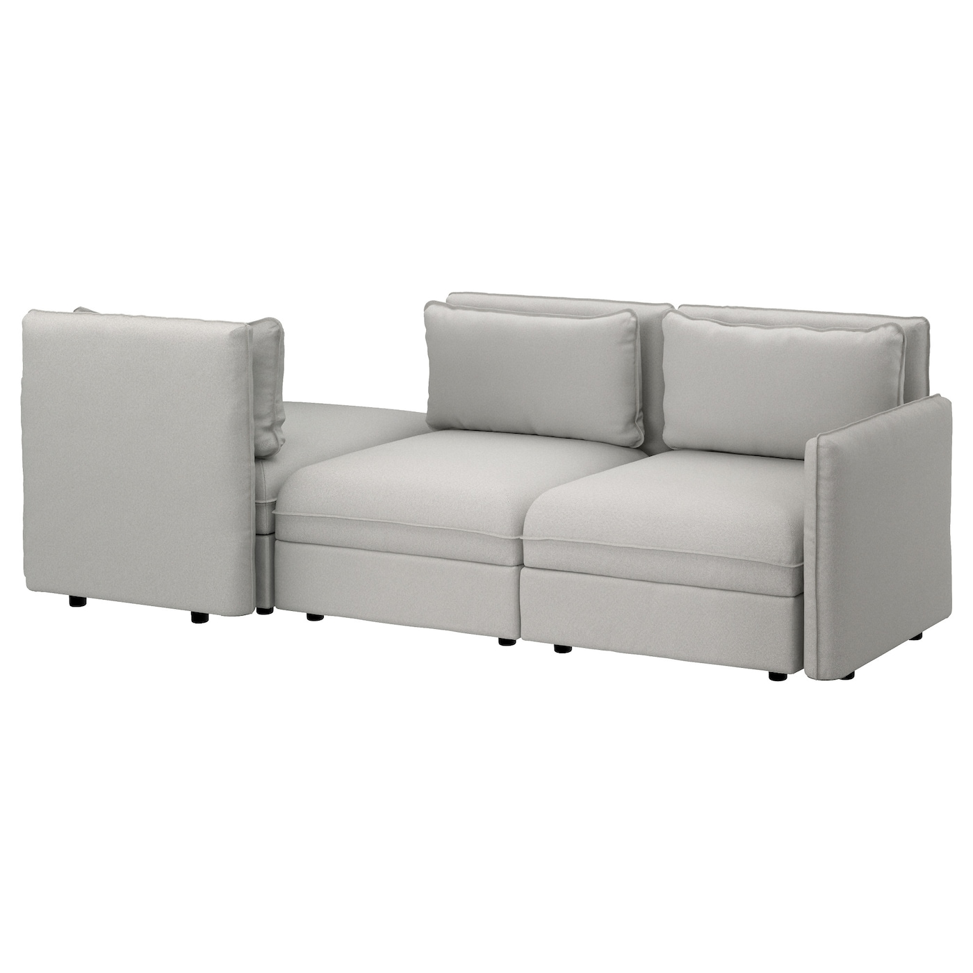 IKEA VALLENTUNA canapé 3 places + couch