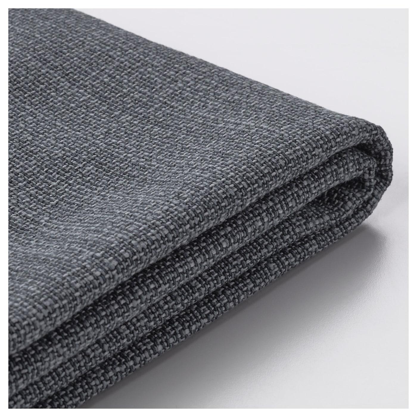 vallentuna housse module si ge avec rangement hillared gris fonc ikea. Black Bedroom Furniture Sets. Home Design Ideas