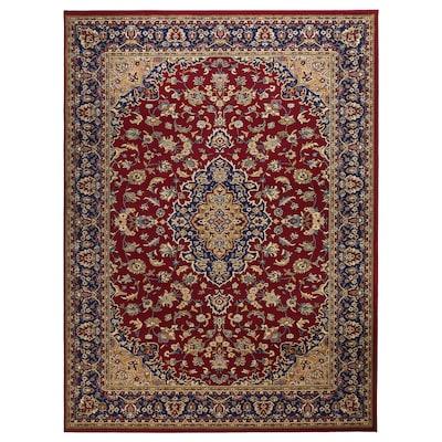 VEDBÄK Tapis, poils ras, multicolore, 170x230 cm