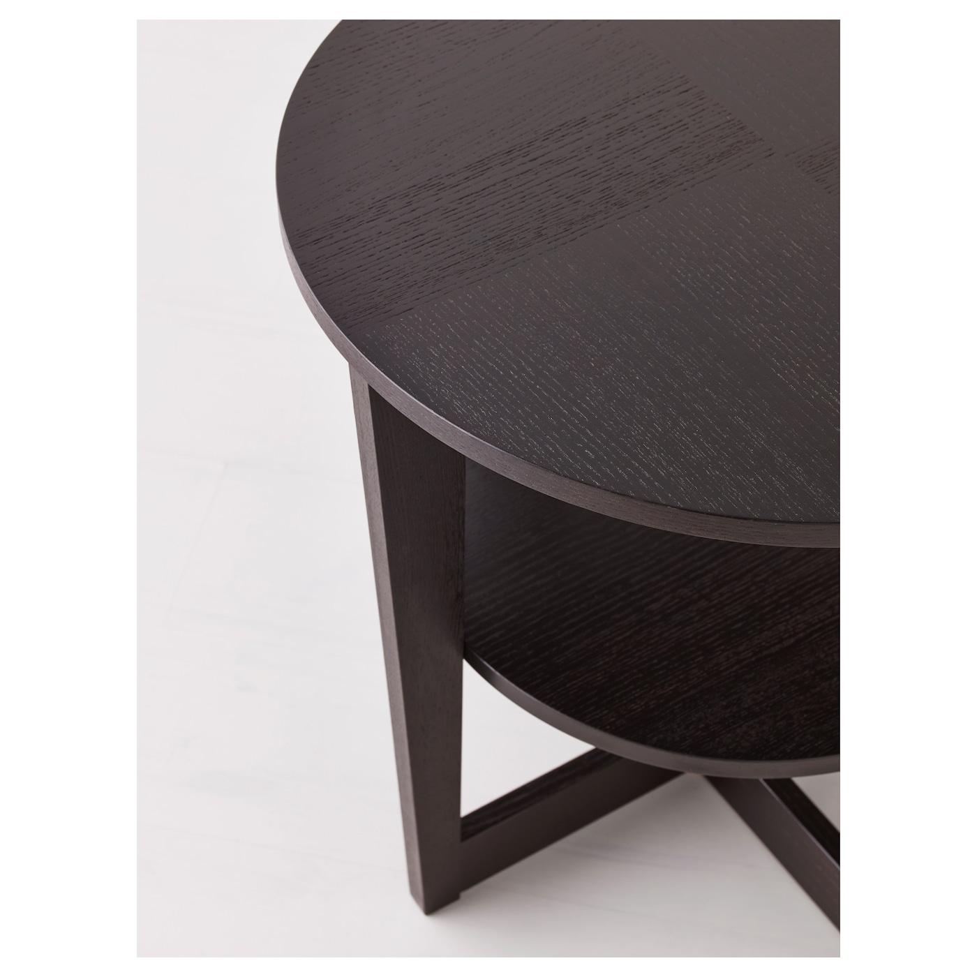 vejmon table d 39 appoint brun noir 60 cm ikea. Black Bedroom Furniture Sets. Home Design Ideas