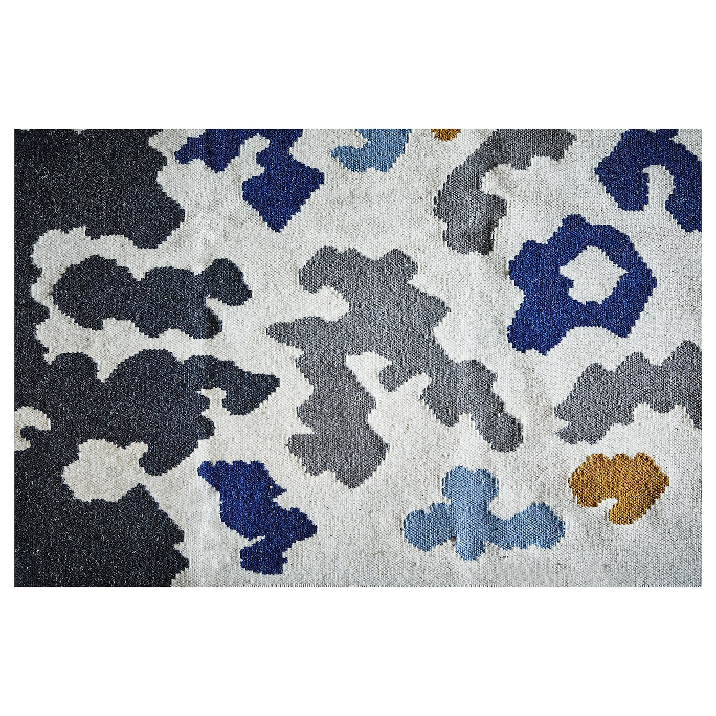 videb k tapis tiss plat fait main multicolore 133 x 195 cm ikea. Black Bedroom Furniture Sets. Home Design Ideas
