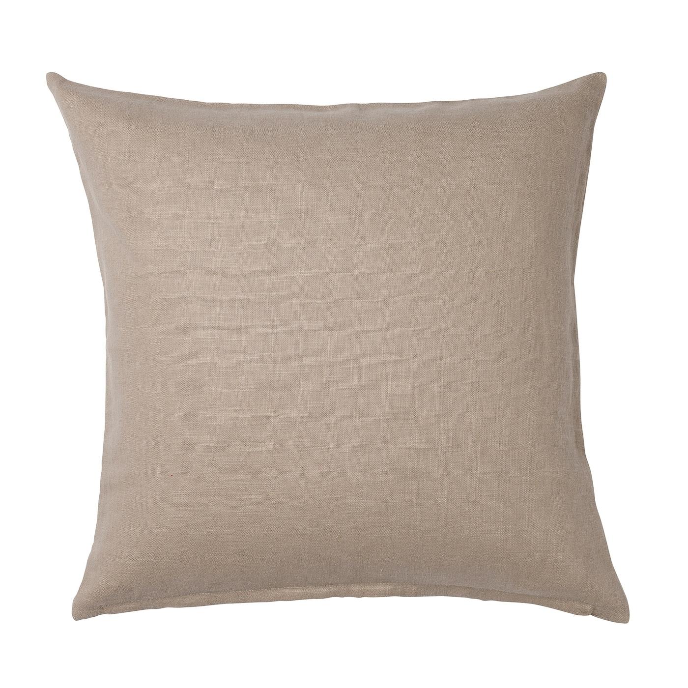 vigdis housse de coussin beige 50 x 50 cm ikea. Black Bedroom Furniture Sets. Home Design Ideas