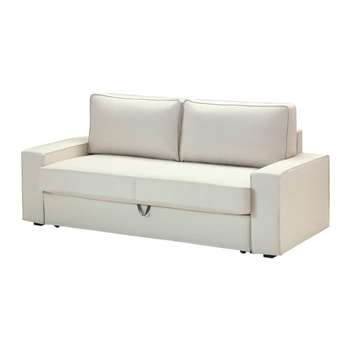 Vilasund convertible 3 places vittaryd beige clair ikea - Ikea convertible 1 place ...