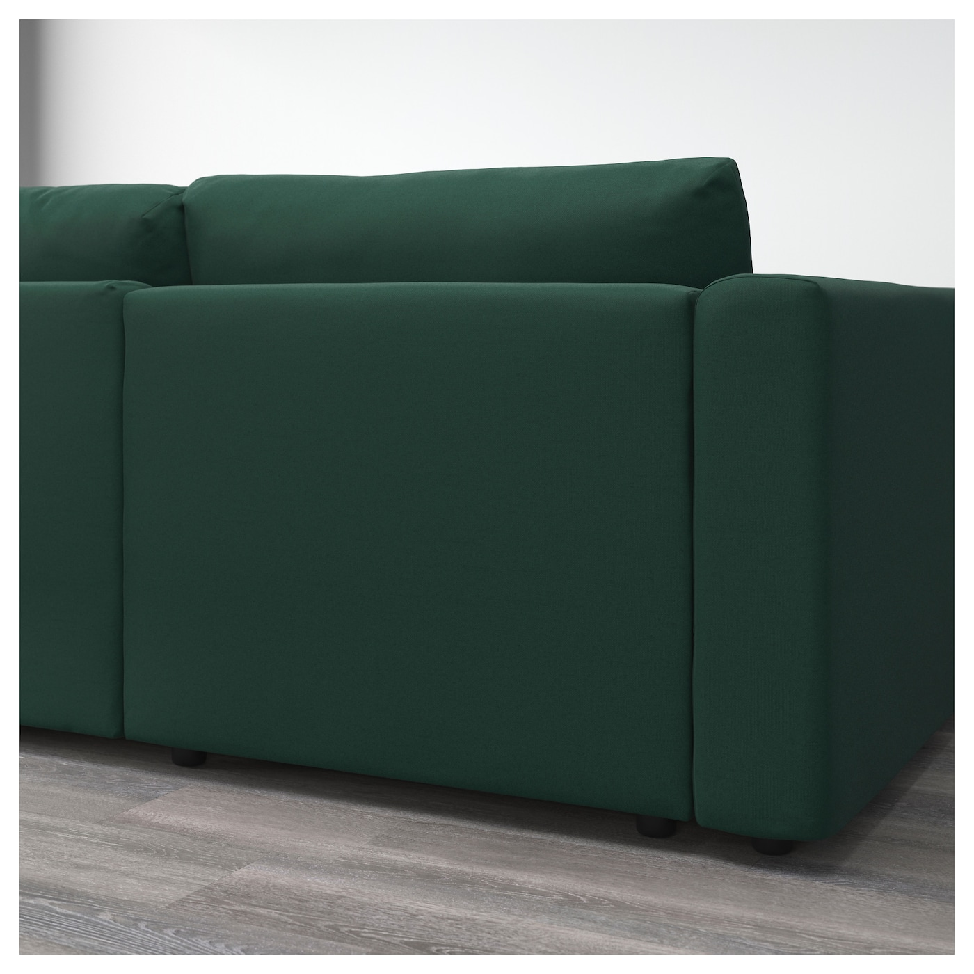 vimle canap d 39 angle 5 places avec m ridienne gunnared vert fonc ikea. Black Bedroom Furniture Sets. Home Design Ideas