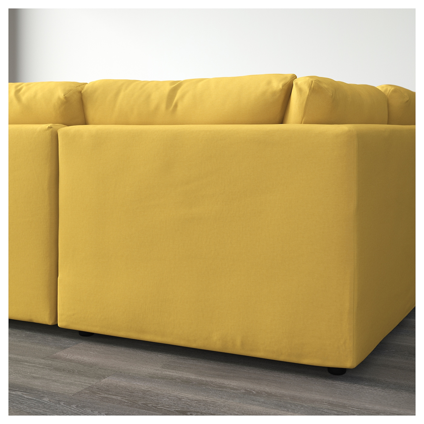Vimle canap en u 6 places sans accoudoir orrsta jaune for Canape 6 places ikea