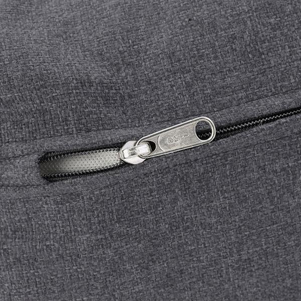 VIMLE Canap 4 pl, avec méridienne/Gunnared gris moyen