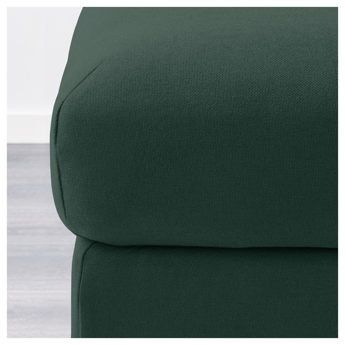 vimle repose pieds av rangement gunnared vert fonc ikea. Black Bedroom Furniture Sets. Home Design Ideas