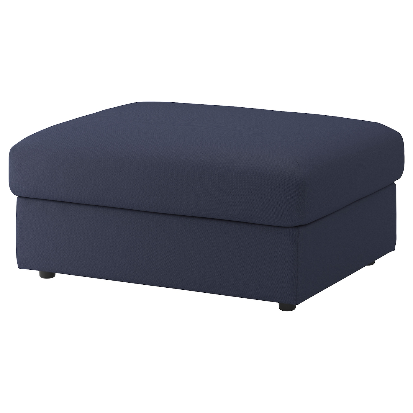 vimle repose pieds av rangement orrsta bleu noir ikea. Black Bedroom Furniture Sets. Home Design Ideas