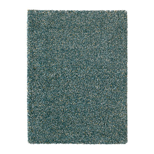 vindum tapis poils hauts bleu vert 133 x 180 cm ikea. Black Bedroom Furniture Sets. Home Design Ideas