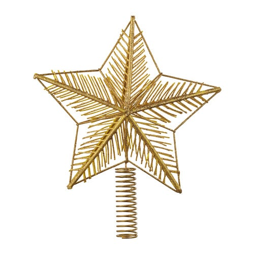 ikea sapin de noel 2018 belgique VINTER 2018 Flèche de sapin étoile Couleur or 26.5 cm   IKEA ikea sapin de noel 2018 belgique