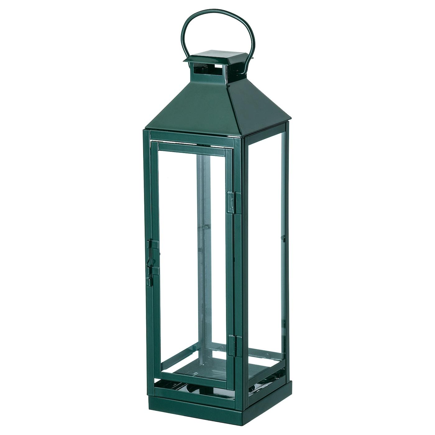 vinter 2018 lanterne pour bougie bloc vert 43 cm ikea. Black Bedroom Furniture Sets. Home Design Ideas