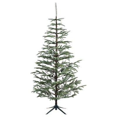 VINTER 2020 Plante artificielle, intérieur/extérieur/sapin de Noël vert, 210 cm