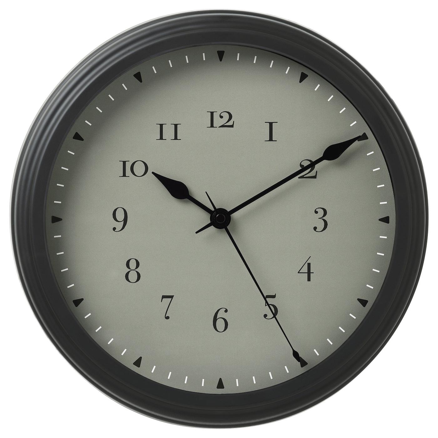 vischan horloge murale 30 cm ikea. Black Bedroom Furniture Sets. Home Design Ideas