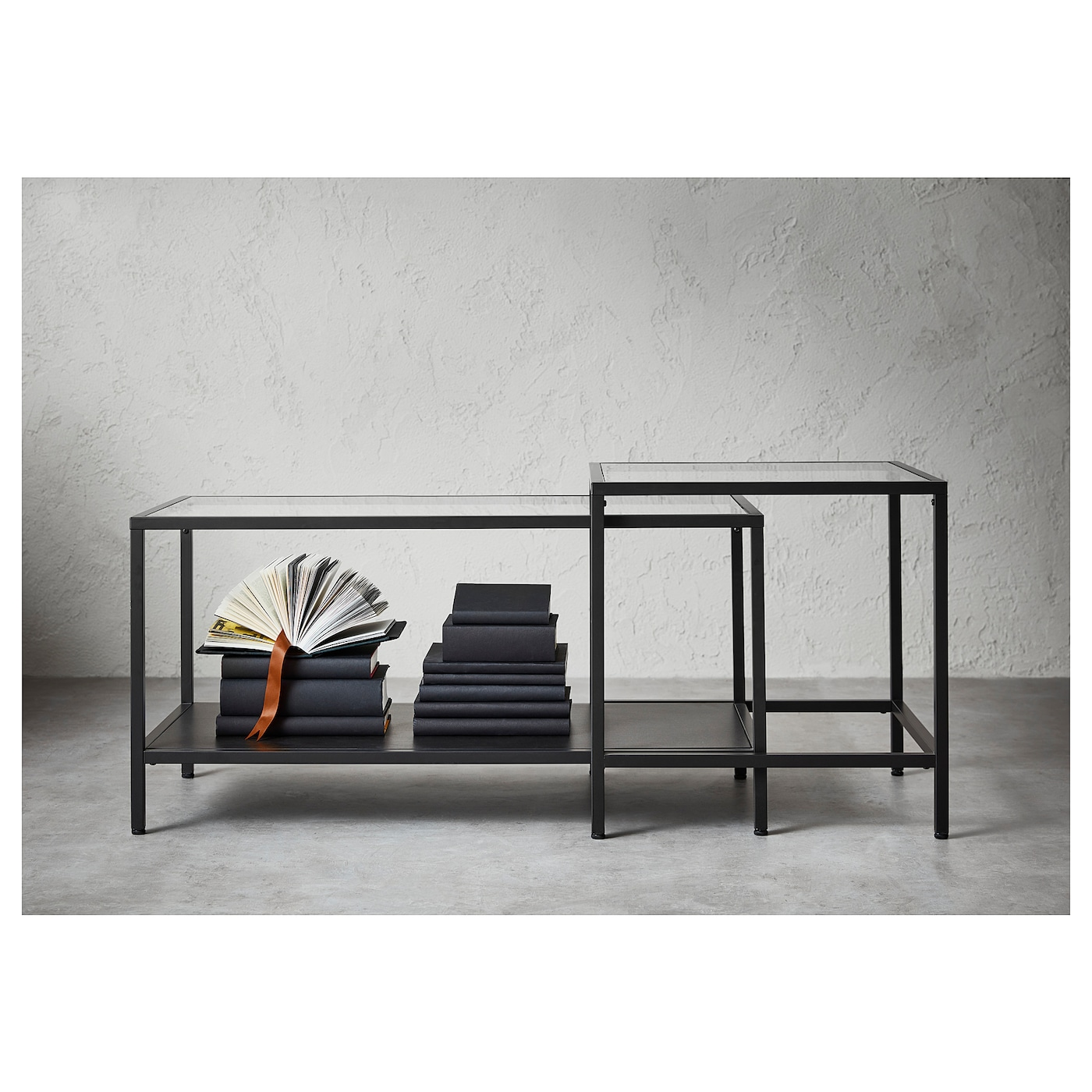 IKEA VITTSJÖ tables gigognes, lot de 2