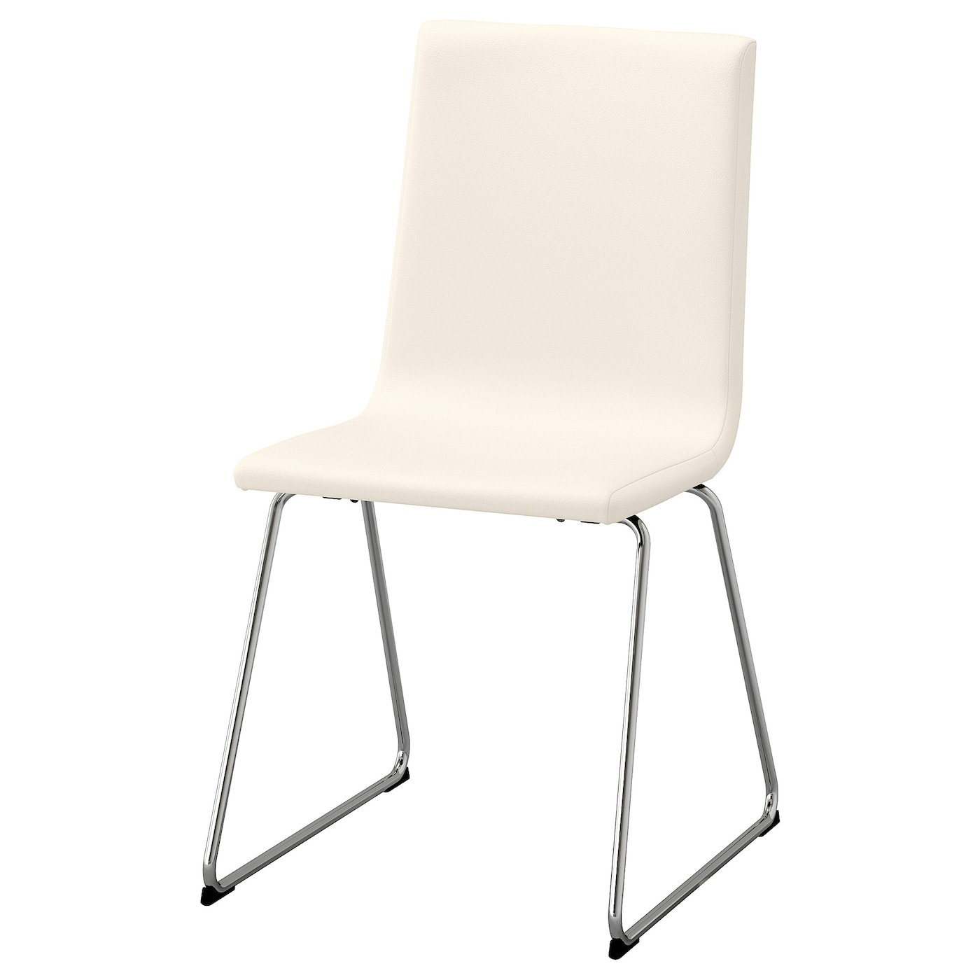 IKEA VOLFGANG chaise Le siège flexible offre un grand confort d'assise.