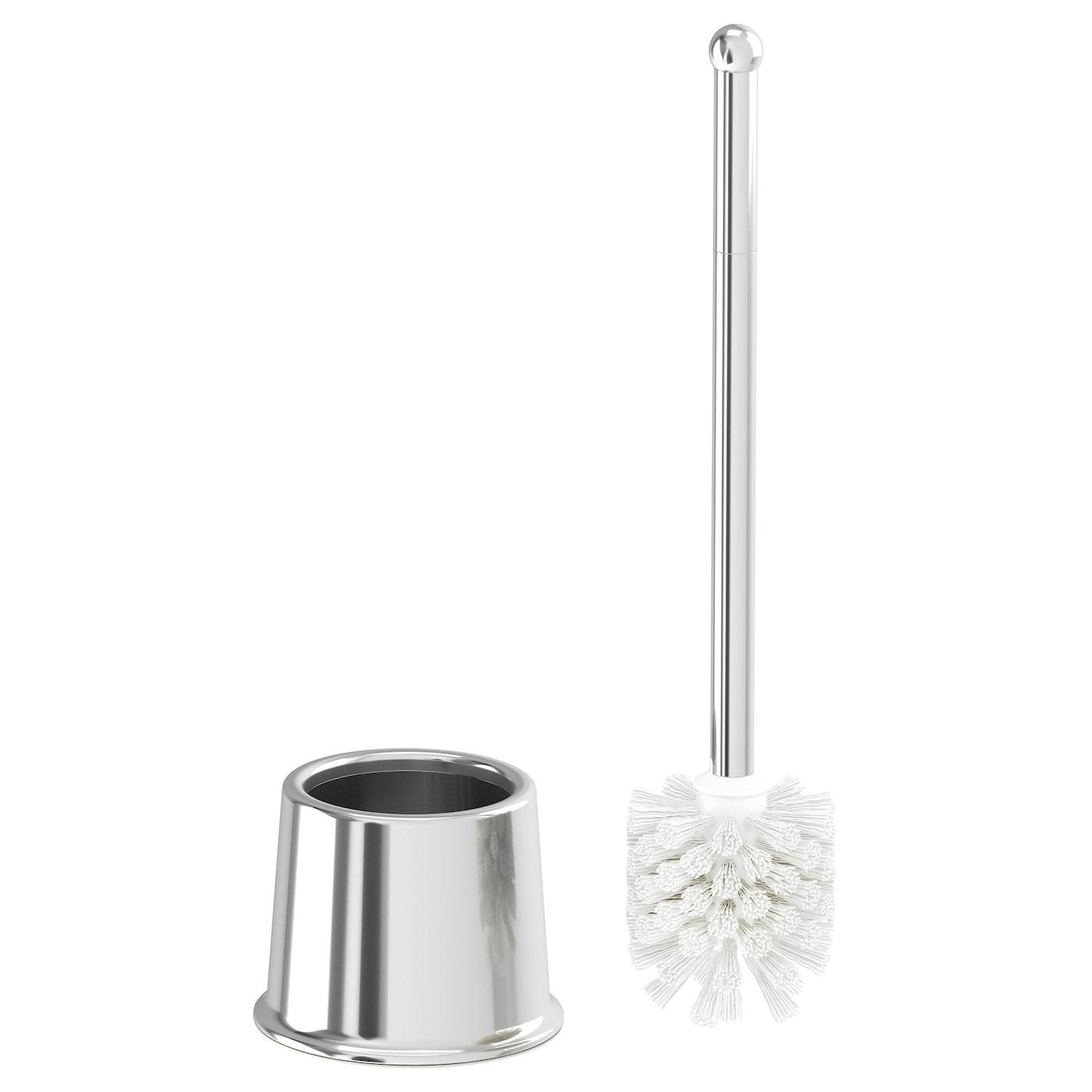 voxnan brosse pour wc effet chrome ikea. Black Bedroom Furniture Sets. Home Design Ideas