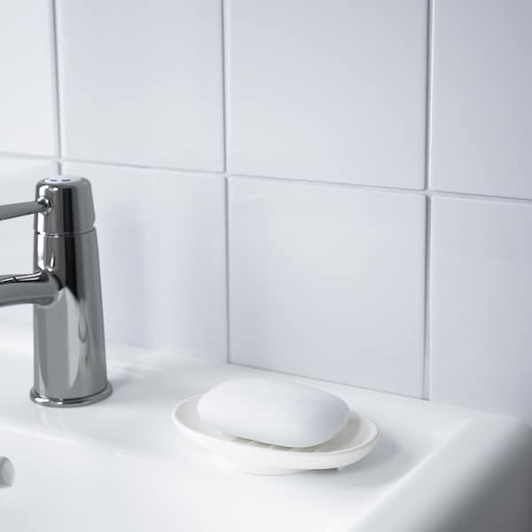 VOXNAN Porte-savon, céramique, 14x2 cm
