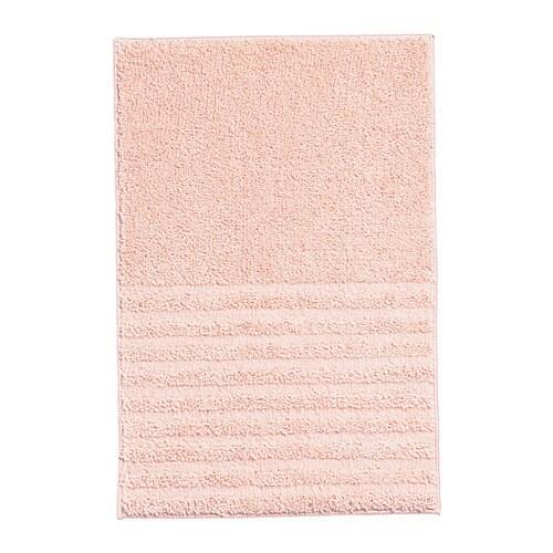 Voxsjon Tapis De Bain Rose Pale 40 X 60 Cm Ikea