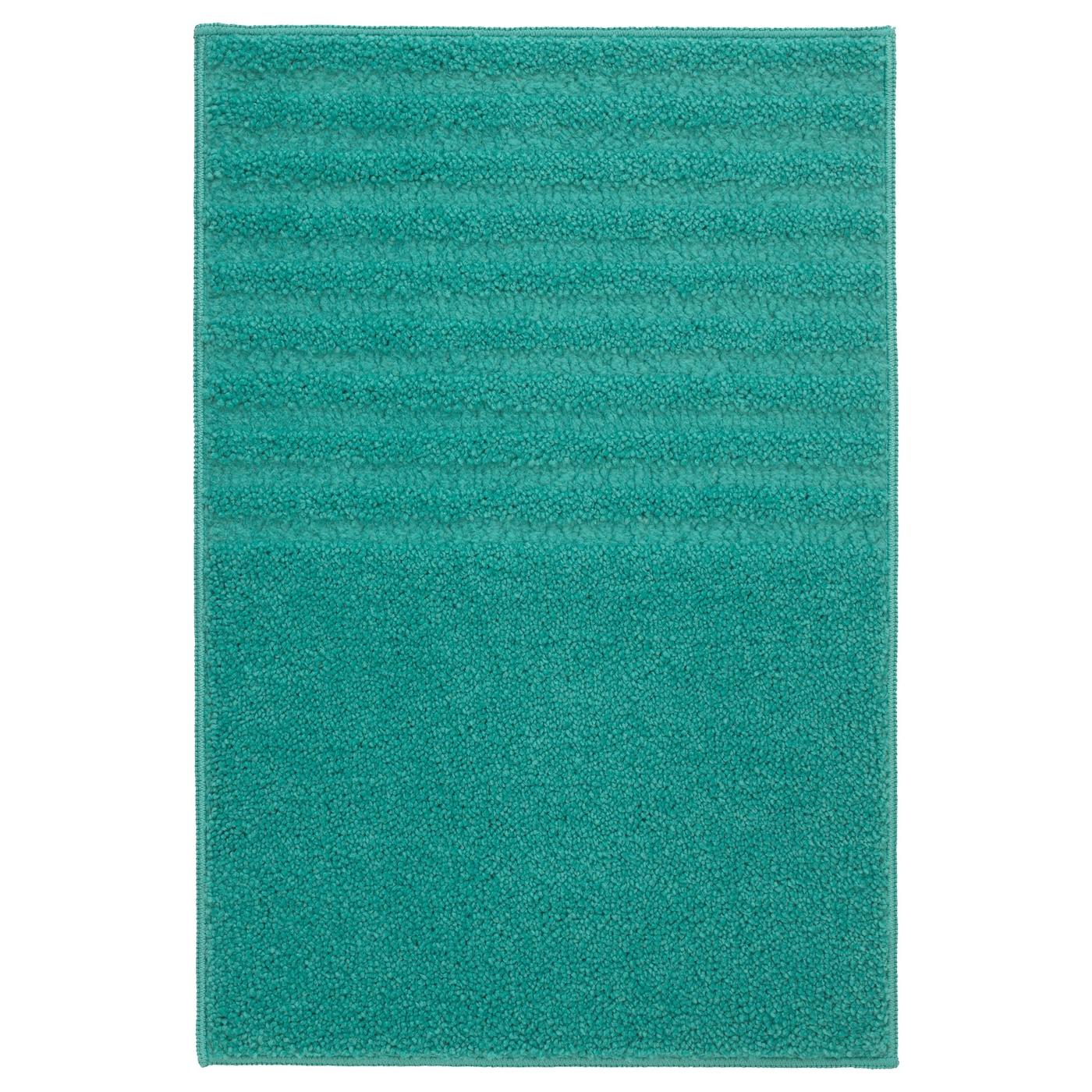 Voxsj N Tapis De Bain Turquoise 40 X 60 Cm Ikea