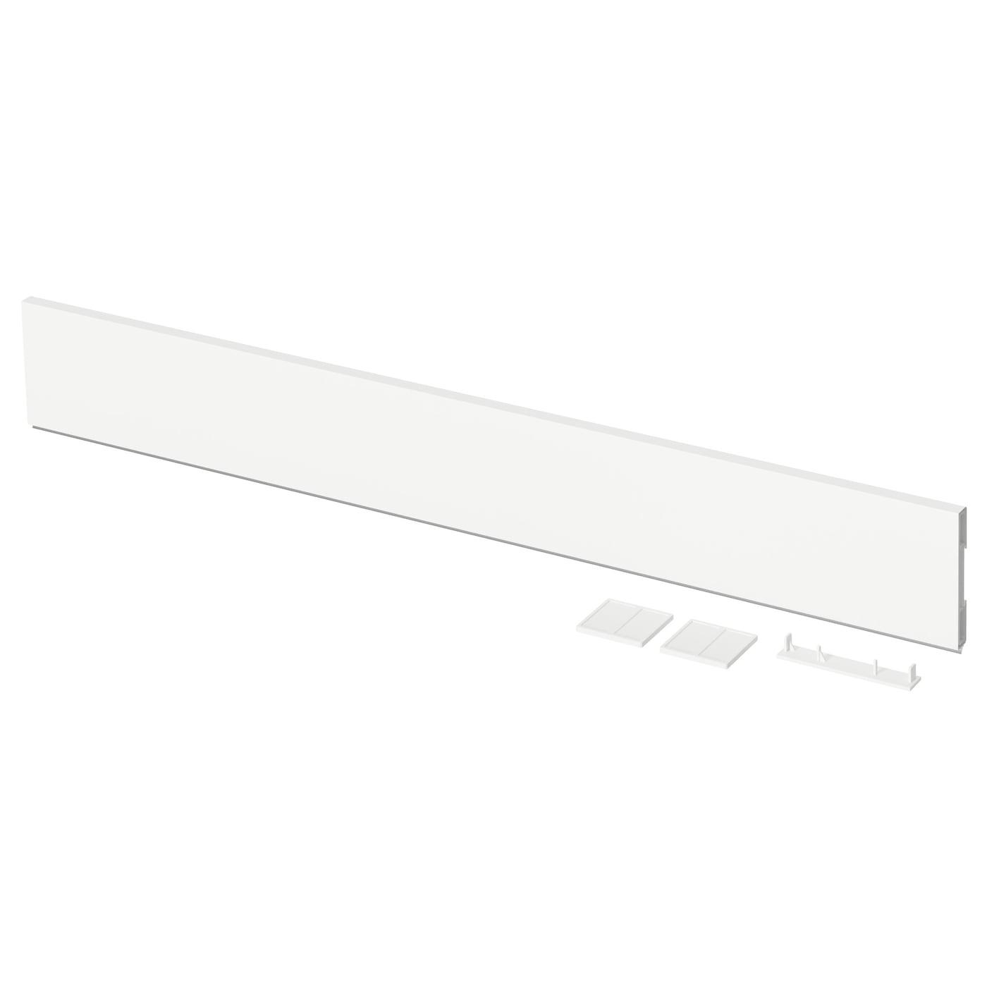 Voxtorp plinthe blanc 220x8 cm ikea for Plinthe cuisine 17 cm