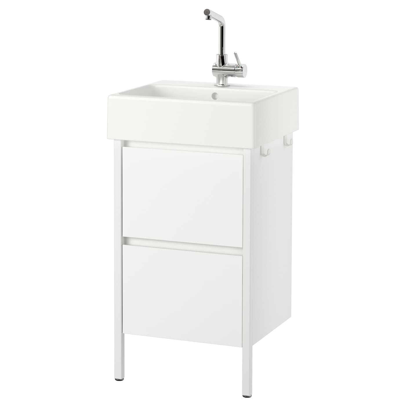 yddingen meuble lavabo 2tir blanc 49x90 cm ikea. Black Bedroom Furniture Sets. Home Design Ideas