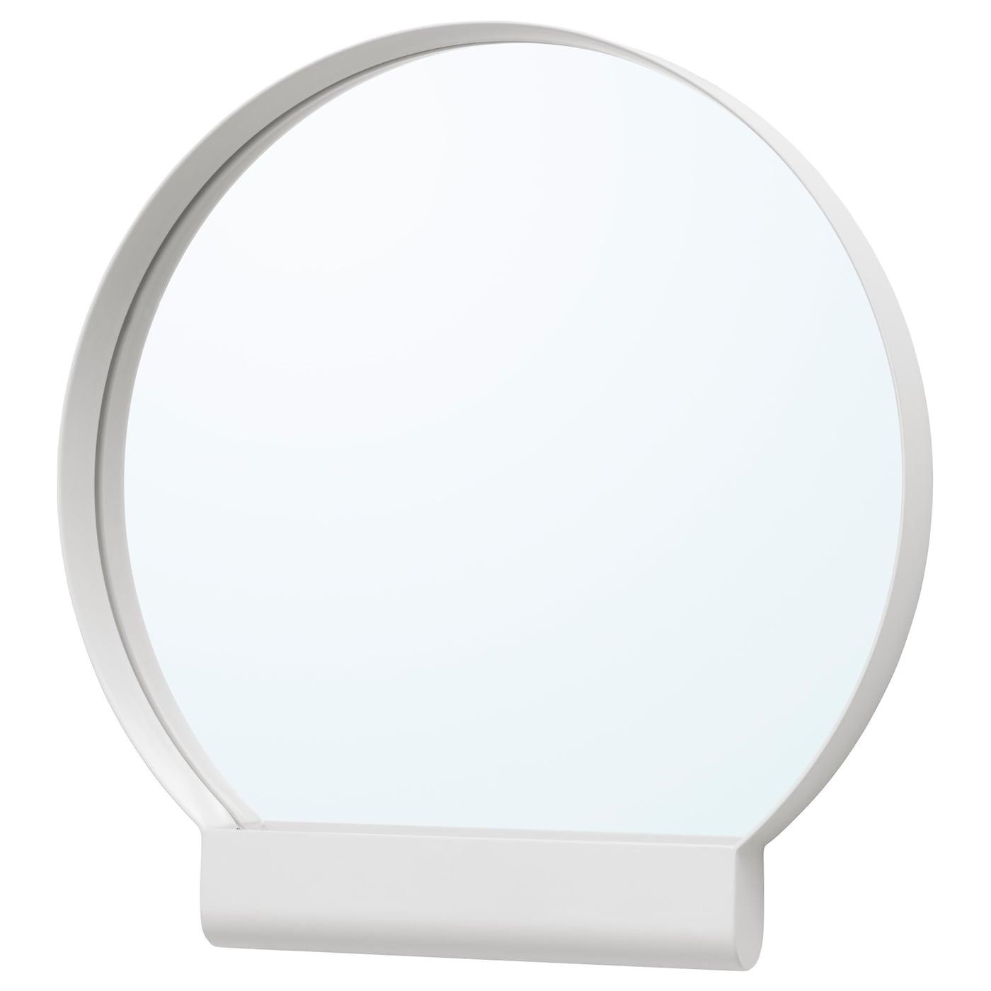 Ypperlig miroir blanc 45x46 cm ikea for Miroir blanc but