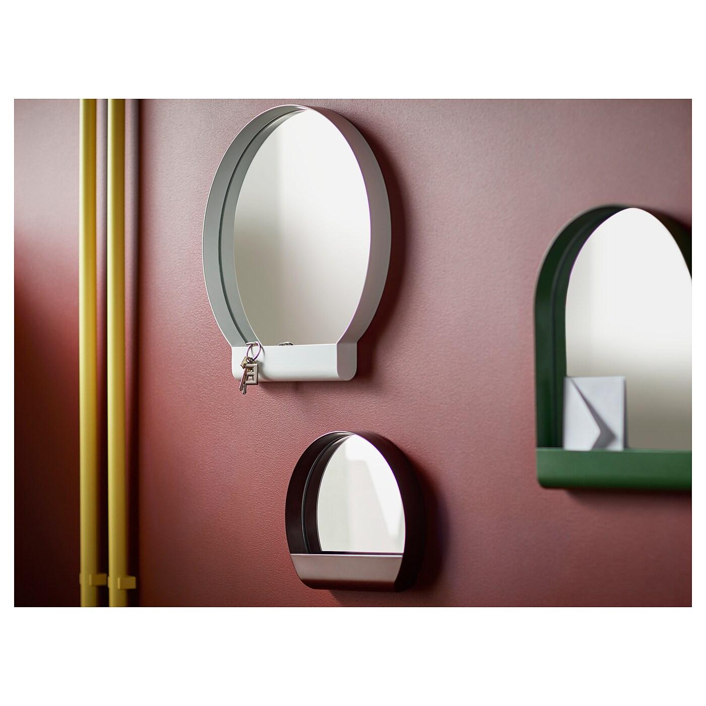 Ypperlig miroir rouge fonc 30x26 cm ikea for Miroir rouge