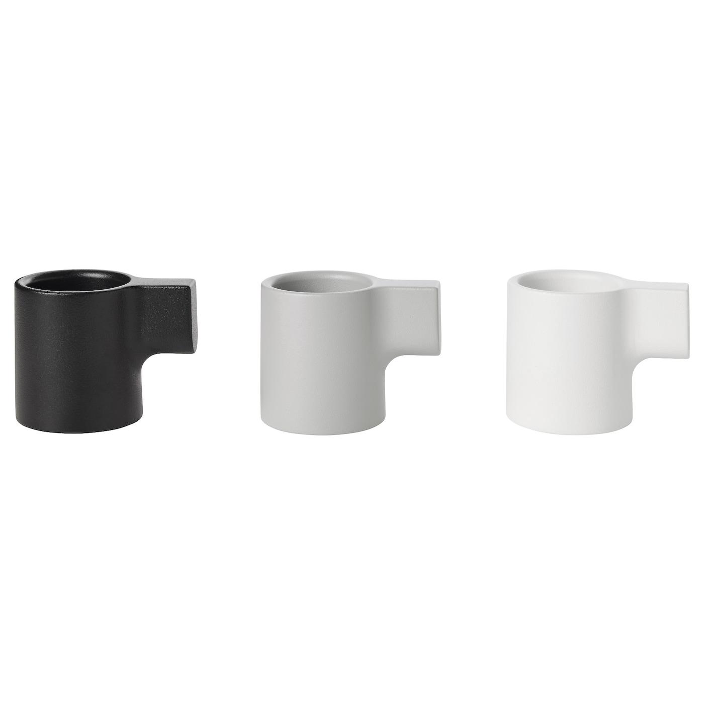 ypperlig photophore gris 6 cm ikea. Black Bedroom Furniture Sets. Home Design Ideas