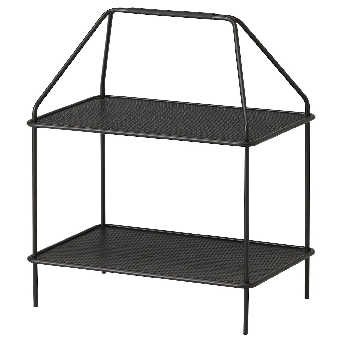 ypperlig table porte revue gris fonc 55x36 cm ikea. Black Bedroom Furniture Sets. Home Design Ideas