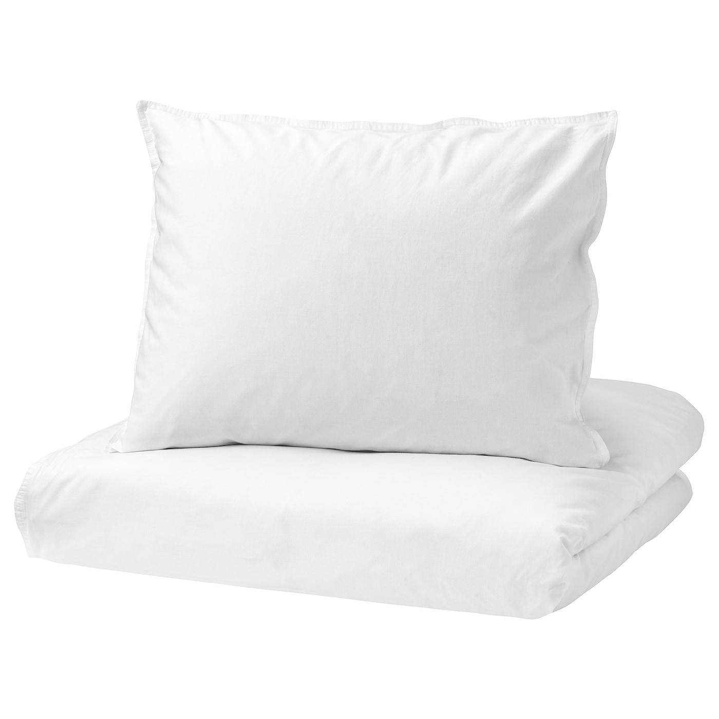 """IKEA """"NGSLILJA dekbedovertrek met 2 slopen katoen dat lekker zacht aanvoelt tegen de huid"""