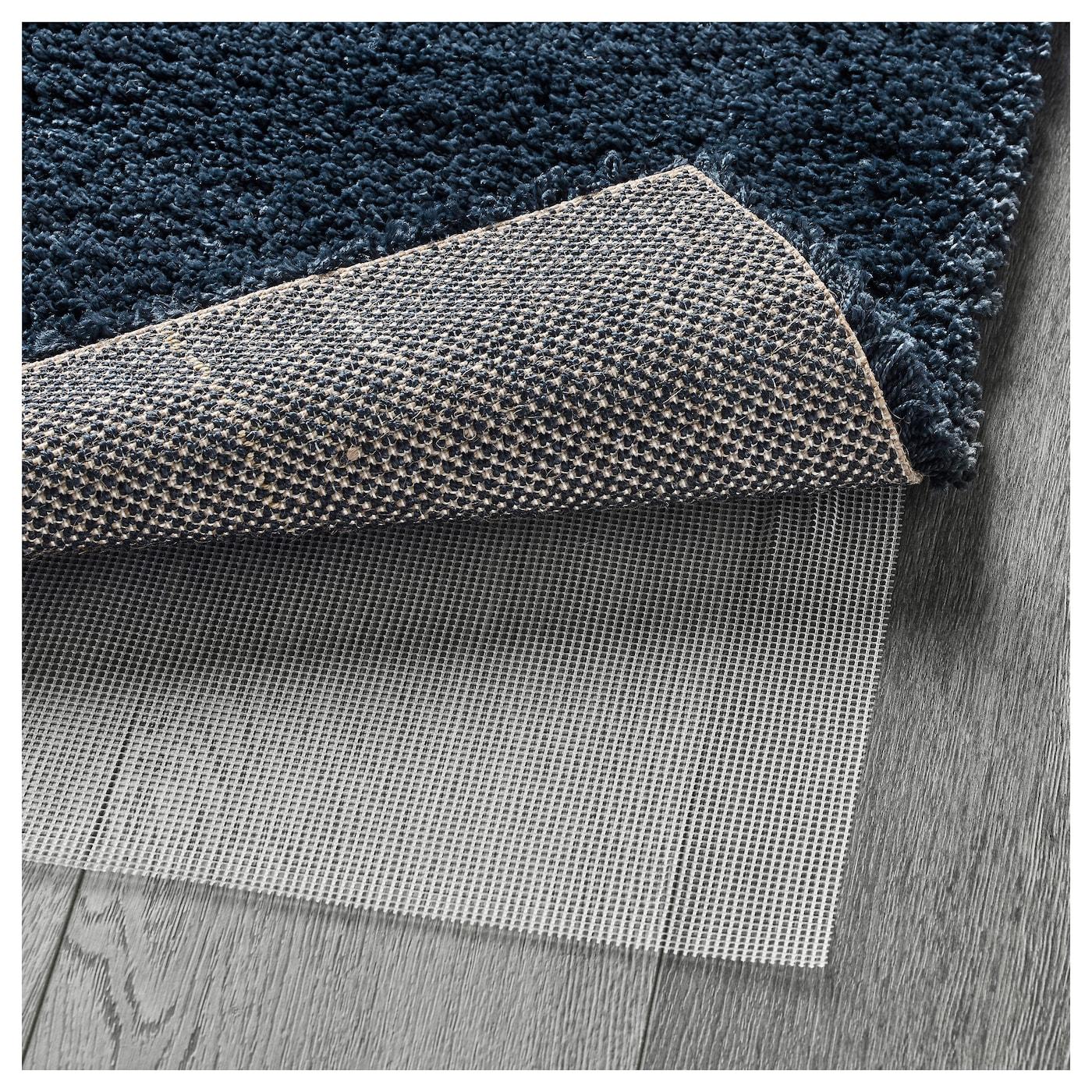 dum vloerkleed hoogpolig donkerblauw 170x240 cm ikea. Black Bedroom Furniture Sets. Home Design Ideas