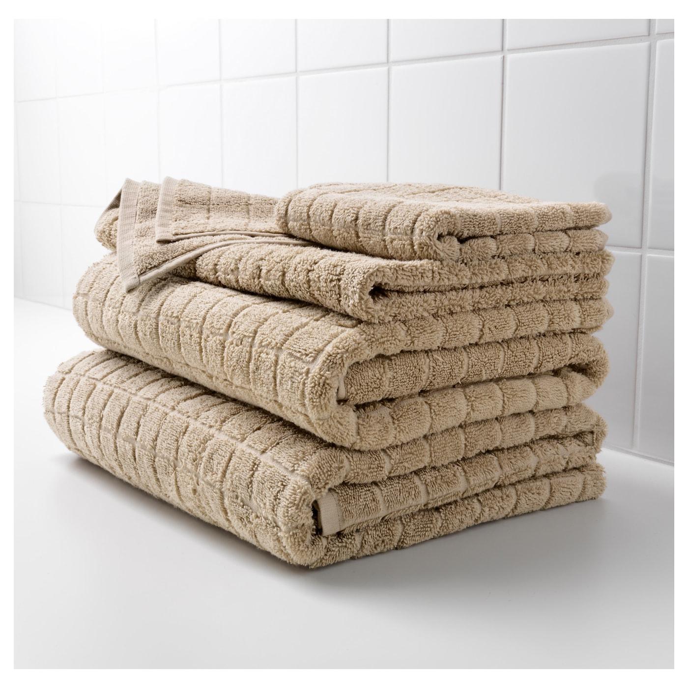 fj rden badhanddoek donkerbeige 70x140 cm ikea. Black Bedroom Furniture Sets. Home Design Ideas