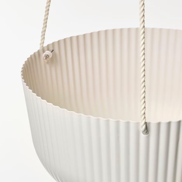 ÄPPELROS Plantenhanger, binnen/buiten ecru, 27 cm