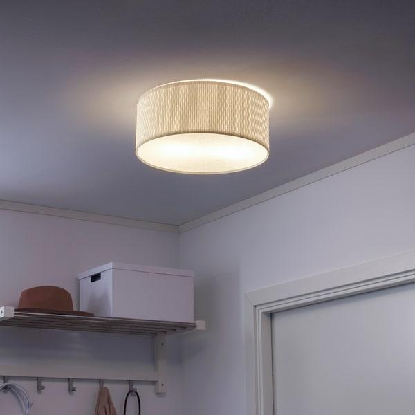 ALÄNG Plafondlamp, wit, 35 cm